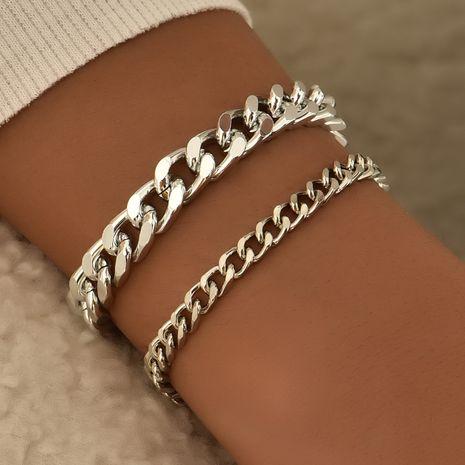 Fashion personality heavy metal style women's bracelet set NHAJ254147's discount tags
