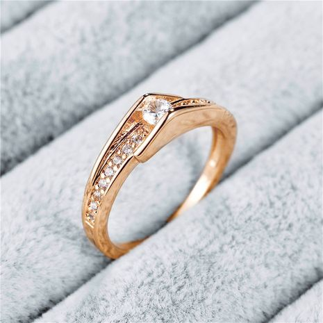 new fashion  zircon alloy ring NHAN254020's discount tags