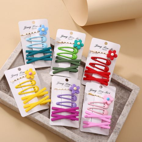 Niedliche Farbe kleinen Clip Pony Seite Clip Set NHYI254082's discount tags