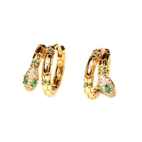 nuevos pendientes de serpiente exótica de diamantes al por mayor NHPY254258's discount tags