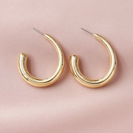 popular new metal texture  hot-selling  earrings wholesale NHGU254277's discount tags