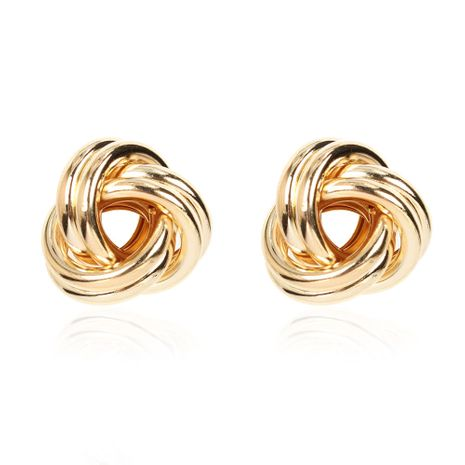 alloy geometric hollow gold fashion retro earrings for women NHCT254477's discount tags