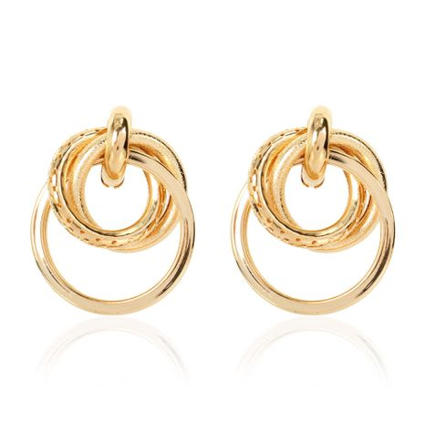 geometric metal retro style earrings wholesale NHCT254480's discount tags
