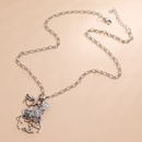 Fashion  personality retro skull hunter camel necklace NHKQ254489