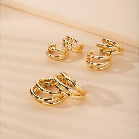 simple retro fashion metal earring jewelry wholesale NHAI254511's discount tags