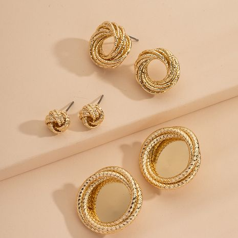 new fashion metal retro alloy earrings for women hot-saling wholesale NHAI254522's discount tags
