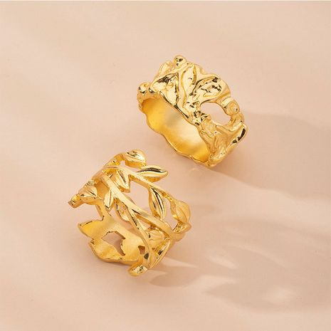 retro geometric exaggerated ring  wholesale NHAI254524's discount tags