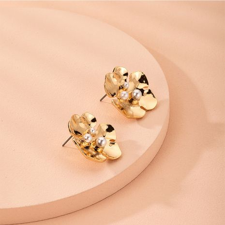 new exquisite small flower niche fashion metal alloy earrings for women NHAI254532's discount tags