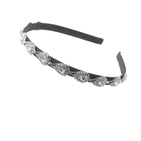 Sweet  rhinestone headband  imple crystal flower headdress NHNT254570's discount tags