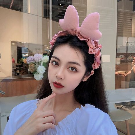 New fashion simple love shaped headband wholesale NHCQ254618's discount tags