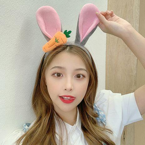 Cute cartoon headband female big rabbit ears headband  NHCQ254631's discount tags