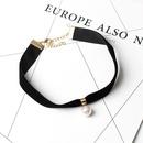 Imitation Pearl Velvet womens Necklace wholesale NHRN254721