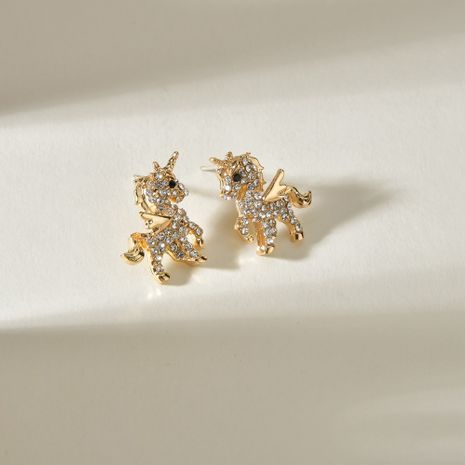 Fashion  925 silver needle animal pendant earrings wholesale NHBQ254735's discount tags