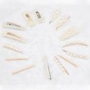 Korean pearl hairpin bangs headdress pearl side clip wholesale  NHCL254783