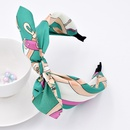 Fashion fabric widebrimmed bow headband wholesale NHCL254805