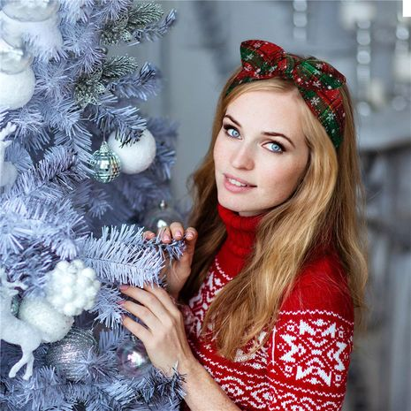 Fashion Christmas Ladies Elastic Bunny Ear Headband for women NHDM254851's discount tags