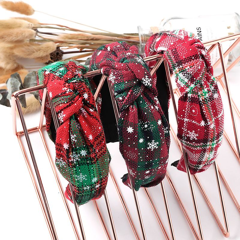 hot style Christmas party head buckle ornaments headband wholesale  NHDM254857