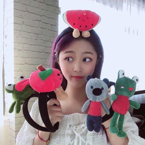Cute cartoon doll cute headband wholesale NHCQ255111's discount tags