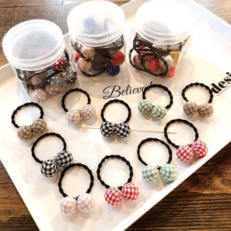 Coréen mignon nouvelle mode noeud papillon tête anneau de cheveux en caoutchouc NHCQ255162's discount tags