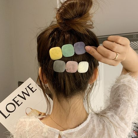 Korea new hair clip back head horizontal clip simple seaside clip headdress wholesale  NHCQ255175's discount tags