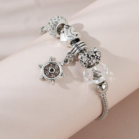fashion new  ship rudder alloy bracelet for women NHPS255186's discount tags