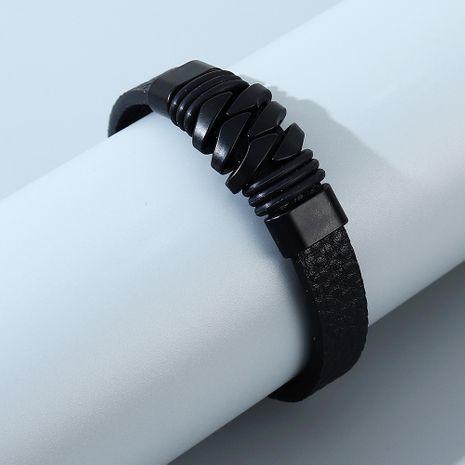 Bracelet en alliage pour hommes sauvages de tendance de mode simple coréenne NHPS255210's discount tags