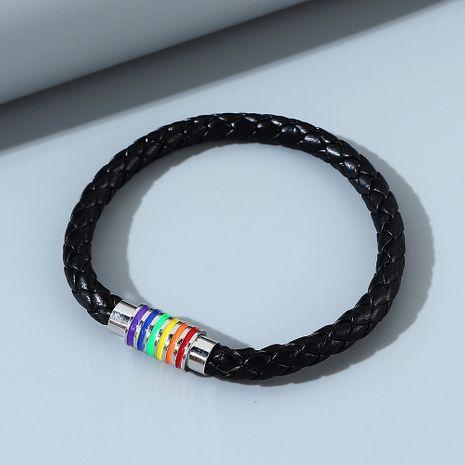 Nouveau bracelet en alliage pour hommes simples à la mode sauvage NHPS255214's discount tags