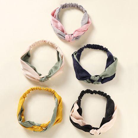 Motif coréen arc géométrique coréen mignon bandeau de lavage de visage pour les femmes NHAU255277's discount tags