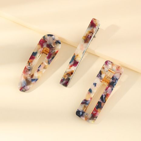sweet and sour hairpin new beautiful girl side clip colorful hair clip wholesale NHAU255278's discount tags