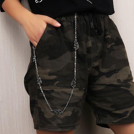 nouvelle chaîne de taille de mode unisexe punk hip hop chaîne de pantalons en gros NHAU255284's discount tags