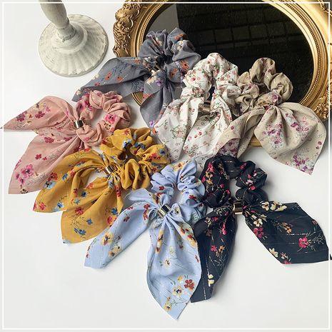 Coréen Floral nœud papillon coiffe élastique cravate cheveux chouchous en gros NHOF255391's discount tags