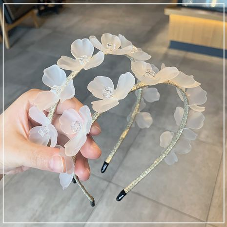 acrylic flower new simple  headband wholesale NHOF255405's discount tags