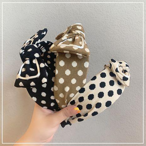 Korean fashion bow women bow wide-brimmed headband hairpin wholesale NHOF255410's discount tags