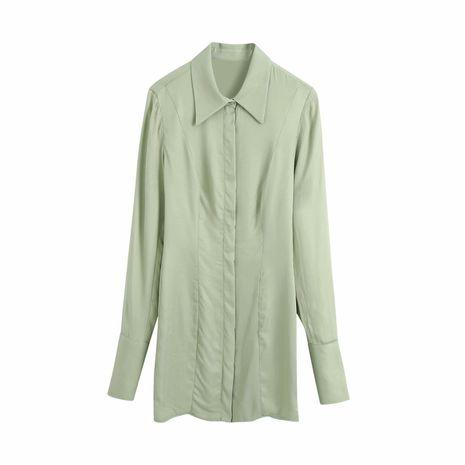 Al por mayor nuevo vestido de hombreras de otoño para mujer en caliente. NHAM255638's discount tags