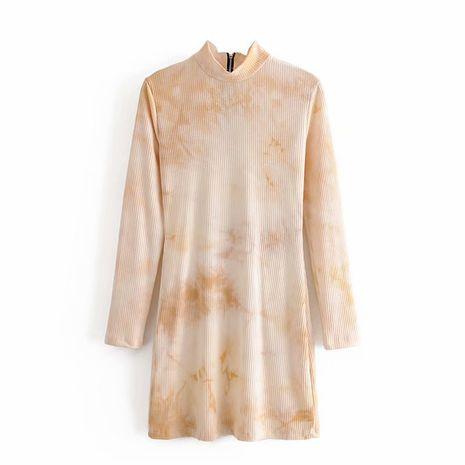 Nuevo vestido de punto con teñido anudado de otoño para mujer NHAM255685's discount tags