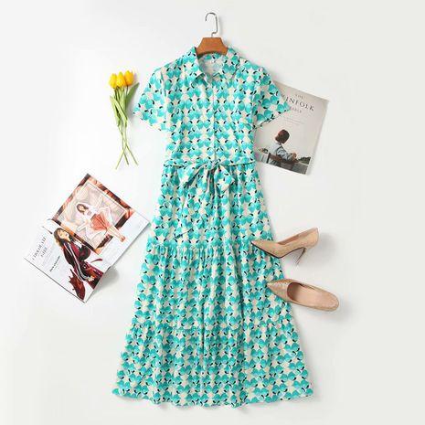 Al por mayor nuevo vestido ajustado con cinturón de moda de otoño para mujer NHAM255721's discount tags