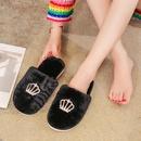 New  plush winter home warm slippers nonslip soft bottom slippers NHPE255793