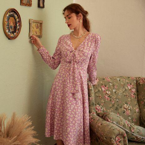 Moda nueva tendencia elegante vestido de mujer retro todo fósforo al por mayor NHDE255834's discount tags