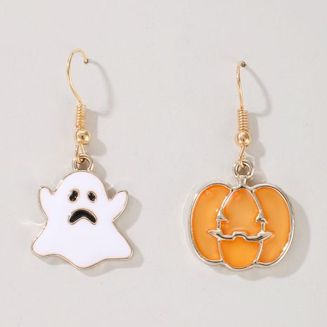 Halloween pumpkin ghost demon earrings wholesale NHGY255890's discount tags