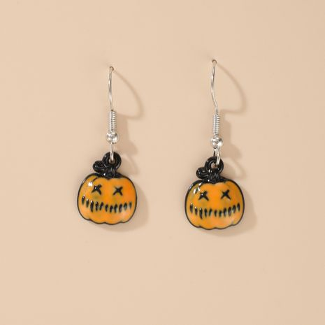 Halloween pumpkin ghost demon earrings wholesale NHGY255889's discount tags
