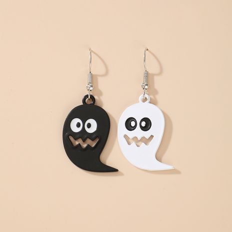Halloween pumpkin ghost demon earrings wholesale NHGY255887's discount tags