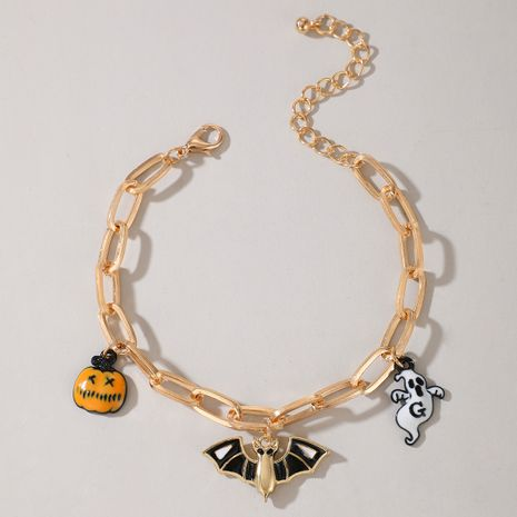 Halloween pumpkin earrings ghost demon earrings wholesale NHGY255886's discount tags