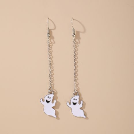 Halloween funny pumpkin ghosts exaggerated acrylic earrings  NHGY255884's discount tags