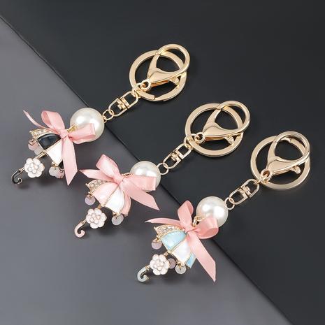 porte-clés parapluie bowknot diamant alliage NHJE306026's discount tags