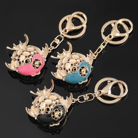 porte-clés poisson tropical en alliage de diamant NHJE306029's discount tags