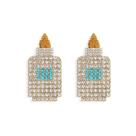 Korean creative water bottle earrings  NHJQ306073's discount tags
