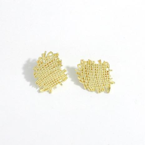 Neue Retro unregelmäßige Ohrringe NHJQ306085's discount tags