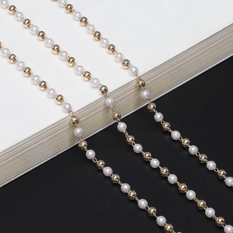 Kupferperlen Perlenglaskette NHBC306184's discount tags