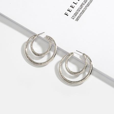 creative retro C-shaped fashion earrings  NHAI306306's discount tags