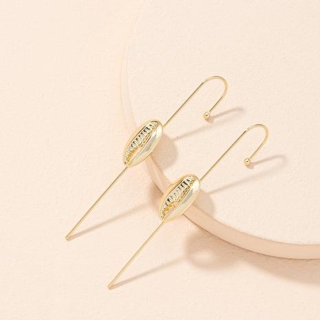 simple fashionable shell earrings  NHAI306309's discount tags